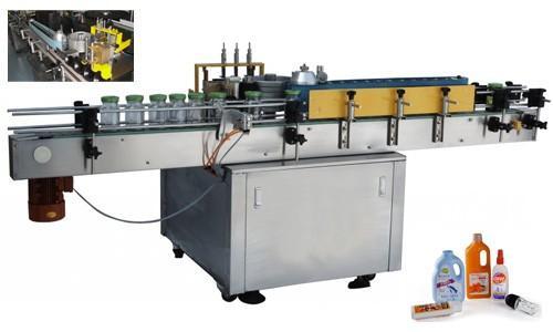Drukbottel-outomatiese plakkapper, 550 kg outomatiese etiketteermasjien