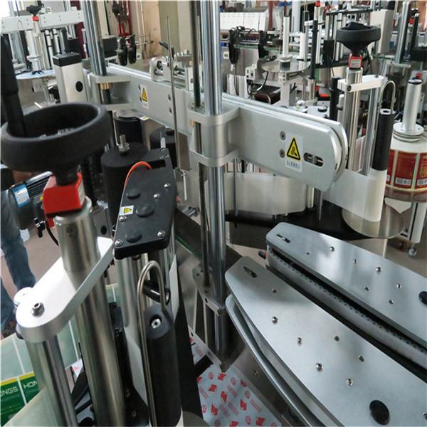 Geen plooie stabiele outomatiese etiketteermasjien 30 mm dik aluminiumlegeringsplaat