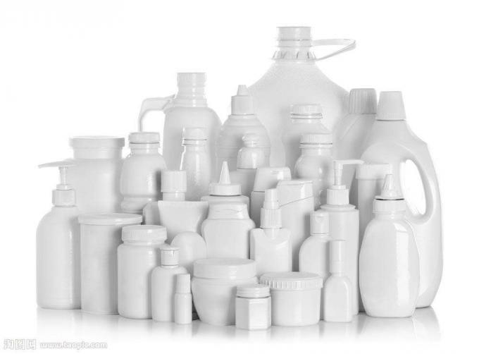 Plastiekbottel-etiketteermasjien vir chemiese produkte, PLC en aanraakskermbeheerstelsel
