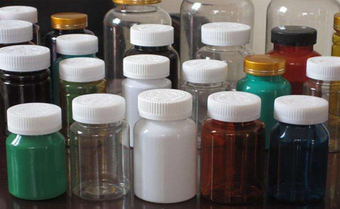 Voor- / agterkant op 'n nie-ronde of plat botteletiket-toediener, botteletikettoerusting