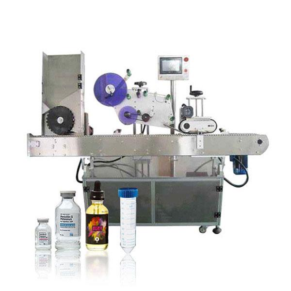 Siemens Plc Vial Servo Controller outomatiese horisontale etiketteringsmasjien