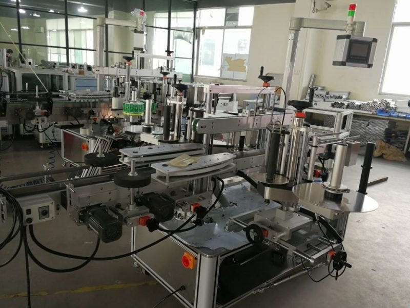 China Hoëspoed-dubbele hoekseël-etiketteringstelsel vir farmaseutiese kartonverskaffers