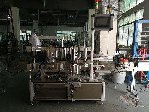 China Dubbelkant Plastic Etiketteringsmasjien vir bottels / outomatiese botteletiketverskaffer