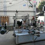Selfkleefende silindriese / ovale botteletiketmasjien met PLC-aanraakskerm