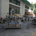 Plat / vierkantige etiketmasjien vir bottelplakkers Outomatiese kapasiteit van 5000-8000B / H